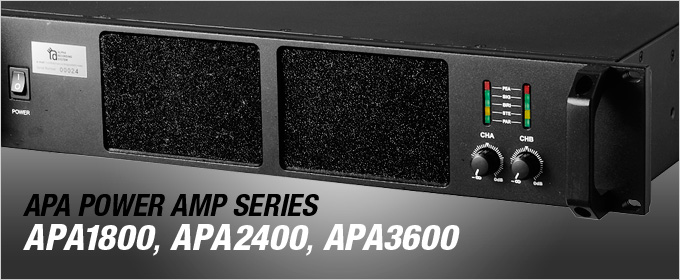 APA POWER AMP